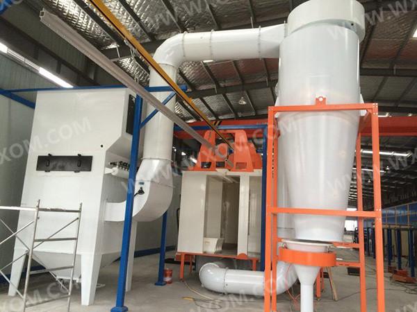 自動粉末回收系統7